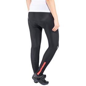Sportful Luna Thermal Tights Women black/coral fluo